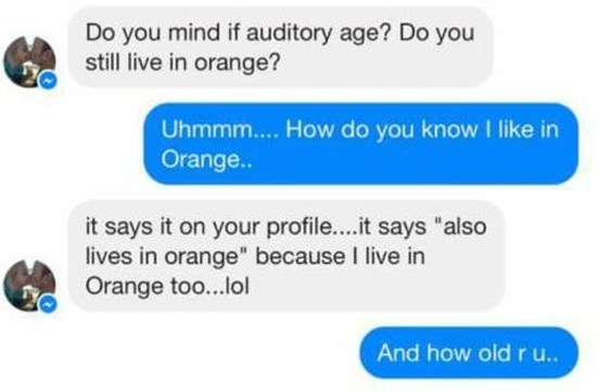 Woman stops suggestive online messages between man and