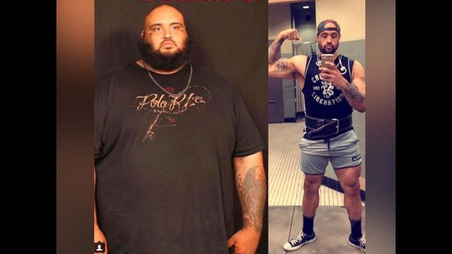 Man loses 300 pounds walking to Walmart for meals